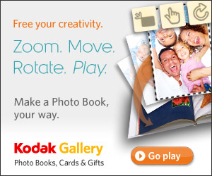kodak How to make a photo book.